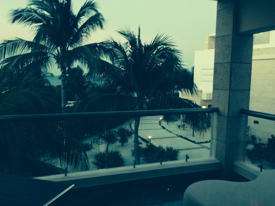 Beloved Playa Mujeres: View from main level balcony of Bella 4