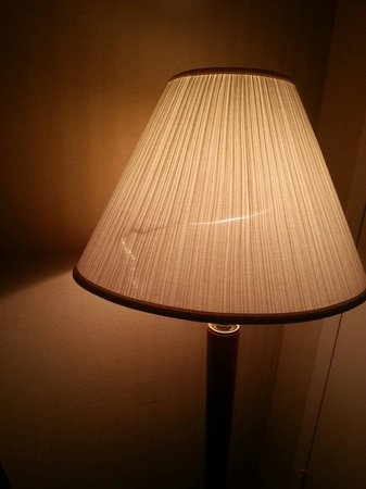 Airport Inn: Nice lamp shade.