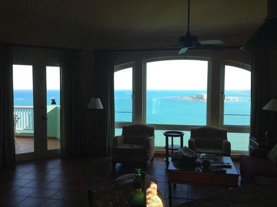 Las Casitas Village, A Waldorf Astoria Resort: View from living room windows