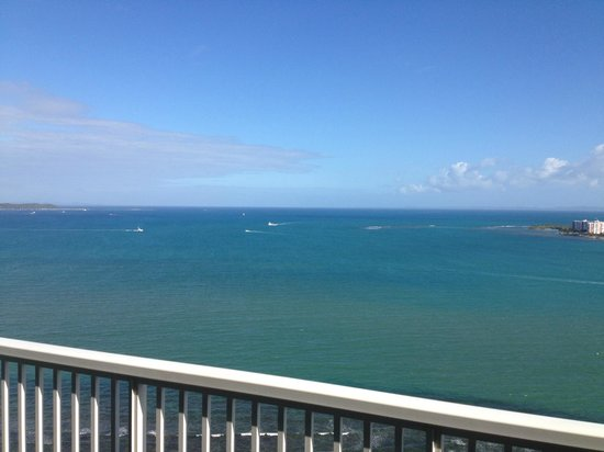 Las Casitas Village, A Waldorf Astoria Resort: View from penthouse-level room balcony