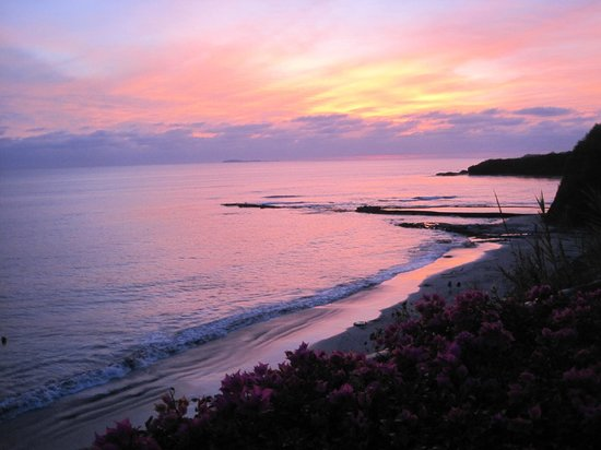 The Royal Suites Punta de Mita: Lovely sunset from the Mexican Restaurant
