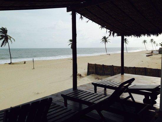Windtown Beach Hotel: From the beach deck