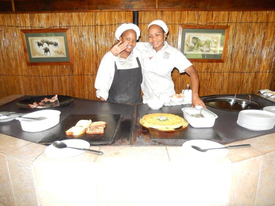 Camp Okavango : Good Cooks and Friendly Staff