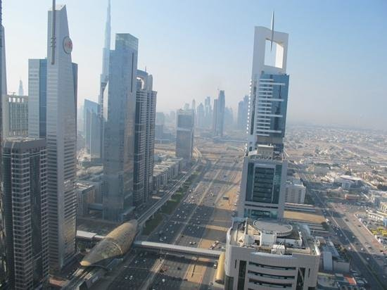 Four Points by Sheraton Sheikh Zayed Road, Dubai: panorama dal tetto 2