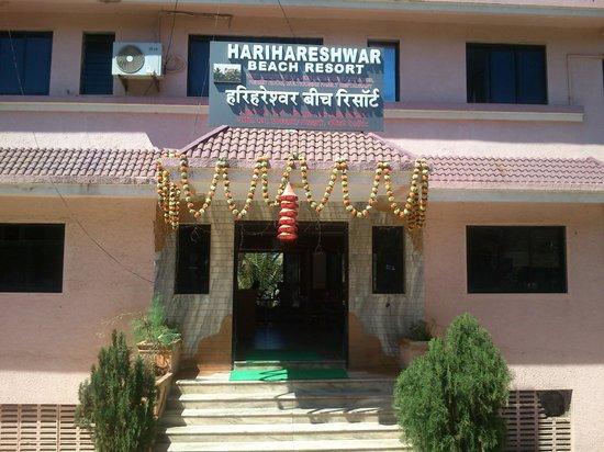 Harihareshwar Beach Resort: Main Enterence