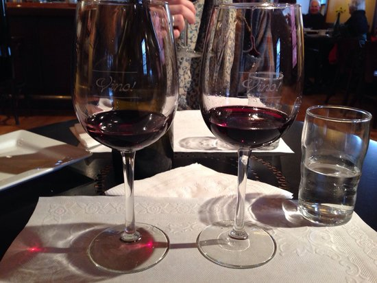 Left Bank Cafe: Wine tasting