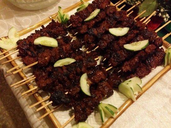 San Juan, Filipina: Vegetarian BBQ