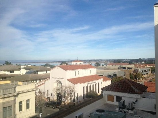 Monterey Hotel: The view from our room