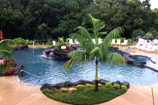 Wyndham Bali Hai Villas: The NEW second pool.