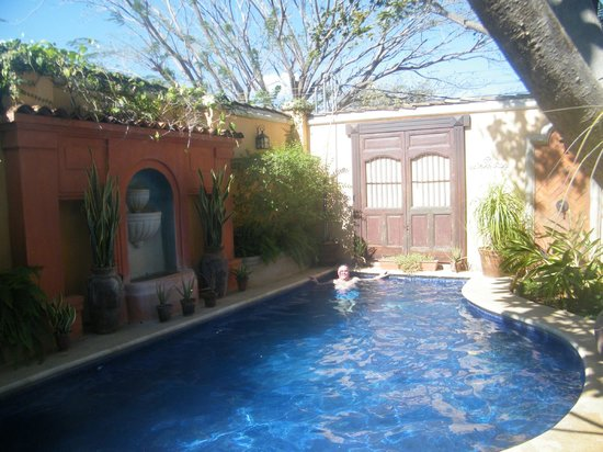 Villa Andalucia Bed and Breakfast: The oasis after a hot day at beach