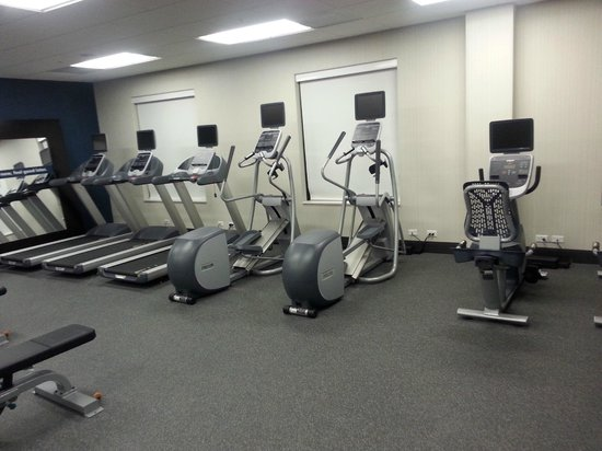 Hampton Inn & Suites Washington, DC North / Gaithersburg: Awesome Gym equipment