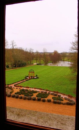Chateau de Challain: View from Tower room