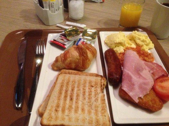 Ibis London Euston St Pancras: Great Breakfast