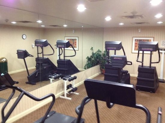 Holiday Inn Express Hotel & Suites Erie (Summit Township) : Exercise room