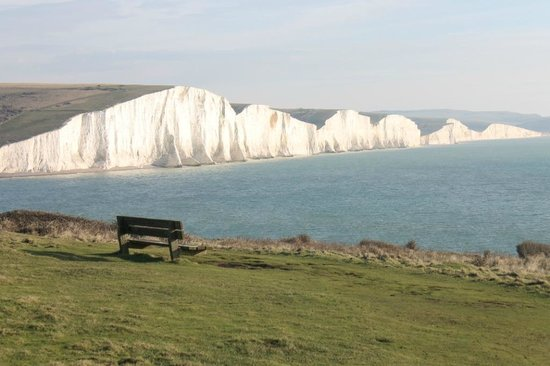 Seaford Beach: The Seven Sisters