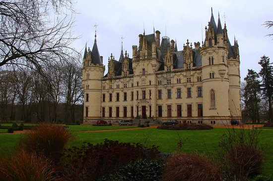 Chateau de Challain: Front of the chateau