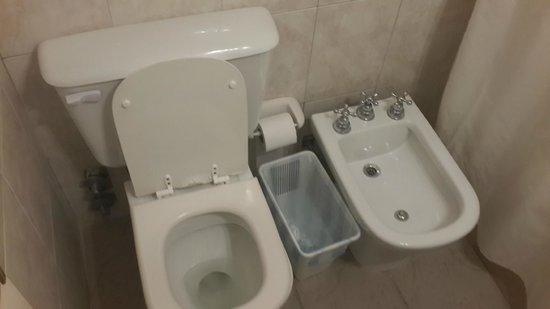 Solares Del Alto Hotel : baño