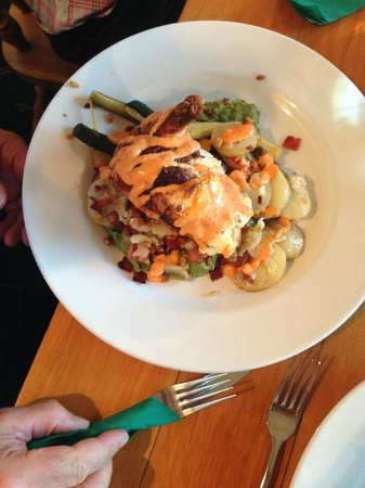 Rutland Arms: Chicken breast with vegetables