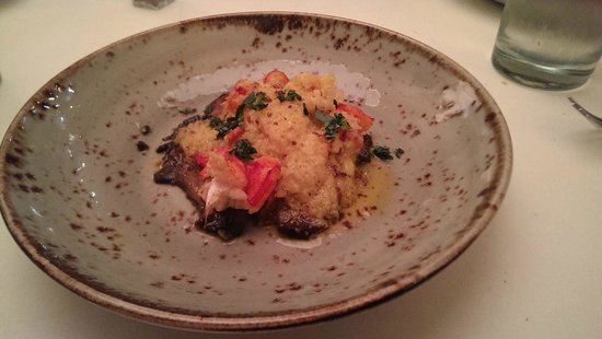 Root 246 : Portebello with lobster thermidor
