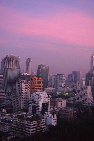 Oriental Residence Bangkok: Room view