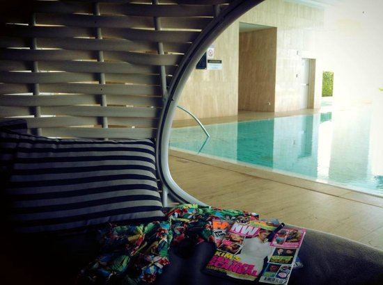 Oriental Residence Bangkok: Perfect place to relax