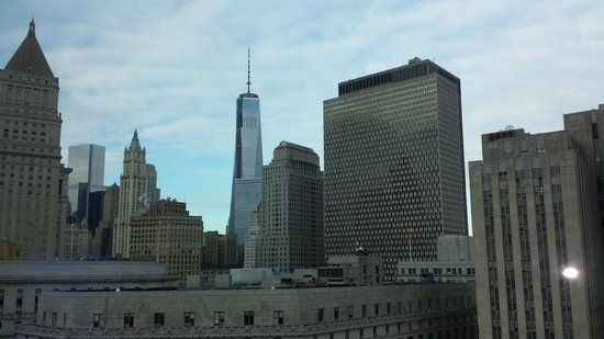 Hotel Mulberry: View of ground Zero from PH 01