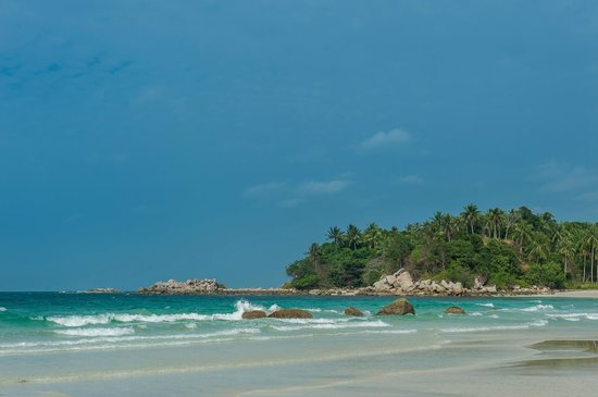 Angsana Bintan: plage de l'hotel