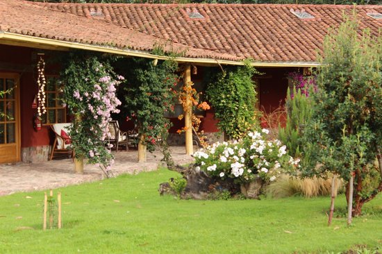 Villa Urubamba Sacred Valley : Every room faces the beautiful garden