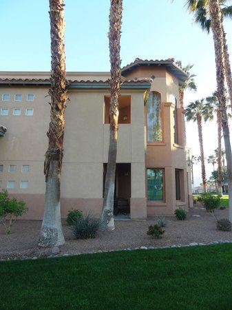 Marriott's Desert Springs Villas II: View of villa.