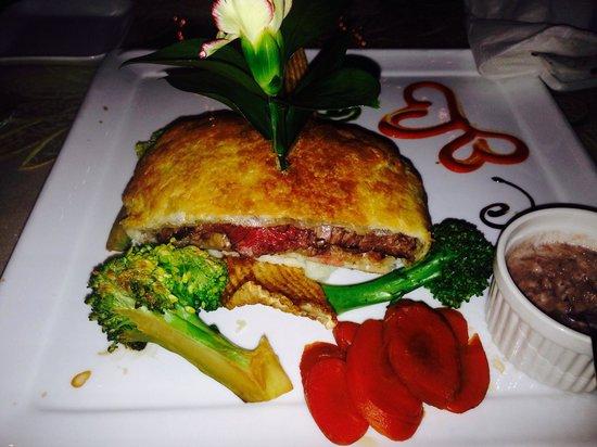 Evergreen Steak & Seafood Restaurant: Beef Wellington