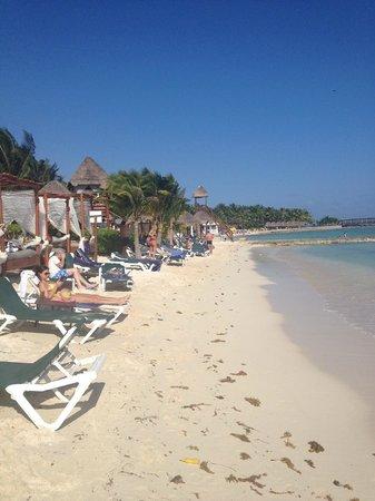 El Dorado Sensimar Riviera Maya: the beach