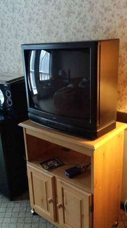Spring House Inn: Old TV