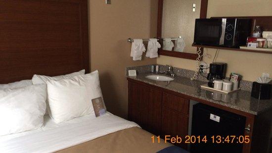 Comfort Inn Gaslamp / Convention Center: Room 115