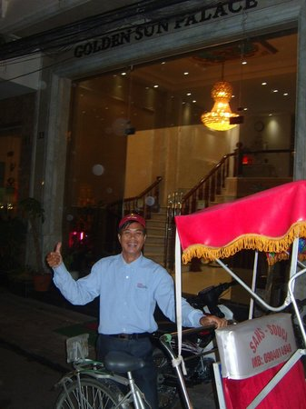 Golden Sun Palace Hotel : ANOTHER SAFE RIDE BACK HOME TO GSP HOTEL