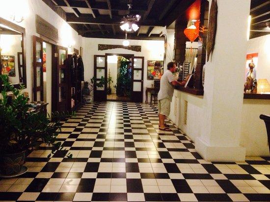 Basaga Holiday Residences: Холл. Рецепшен.