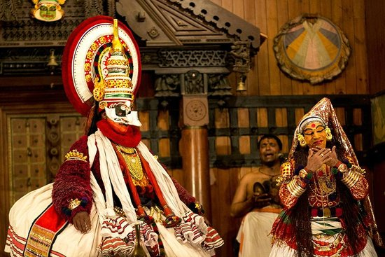 Kathakali Dance in Fort Kochi - Picture of Heavenly Home