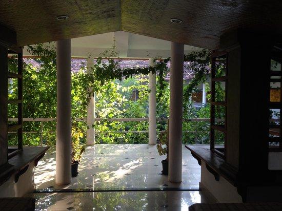 Kshetra Beach Resorts: View of garden