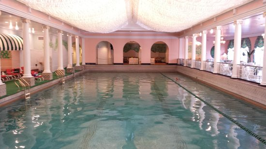 The Greenbrier: The indoor pool