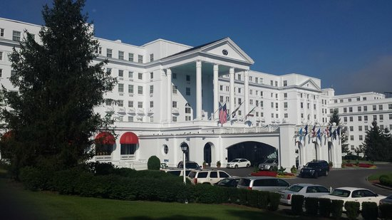 The Greenbrier: The main building