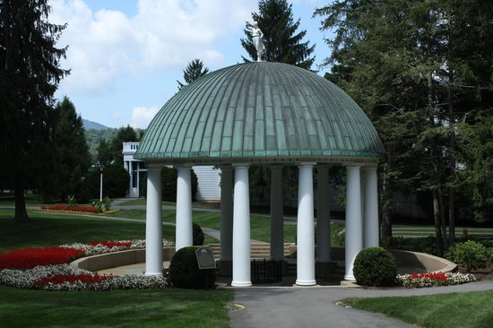 The Greenbrier: The spring house