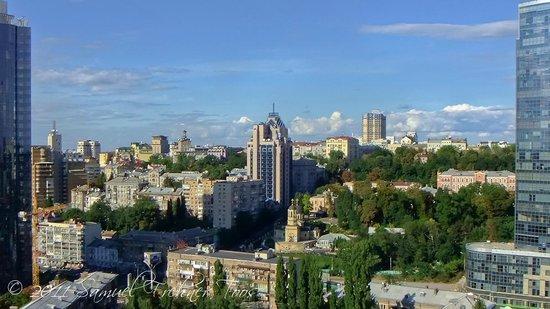 Premier Hotel Rus : Aussicht aus Zimmer