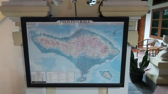 Rosani Hotel: this look like an old map