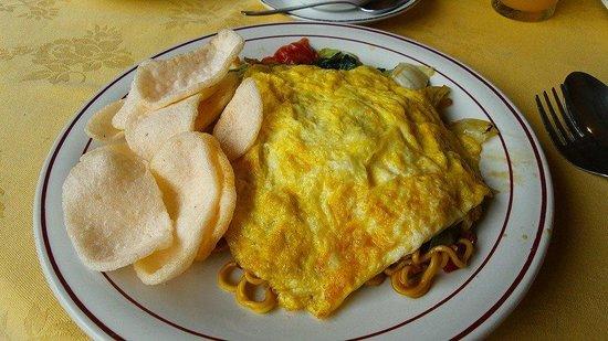 Rosani Hotel : bali style breakfast