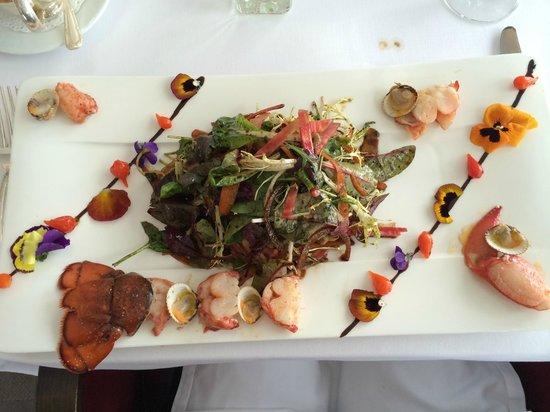 Chateau Eza: Extraordinaire homard !