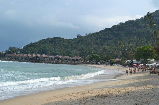 The Sarann: Вид с пляжа Чавенг Ной на отель