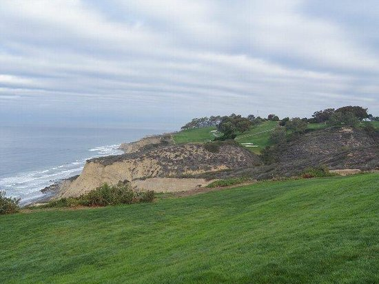 Torrey Pines Golf Course : 海岸沿いのコース
