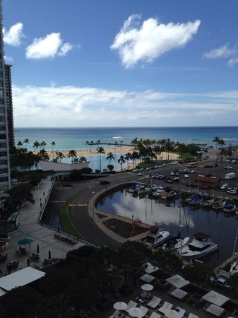 The Modern Honolulu: View of the lagoon and ocean