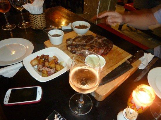 Patrick Wine : Steak