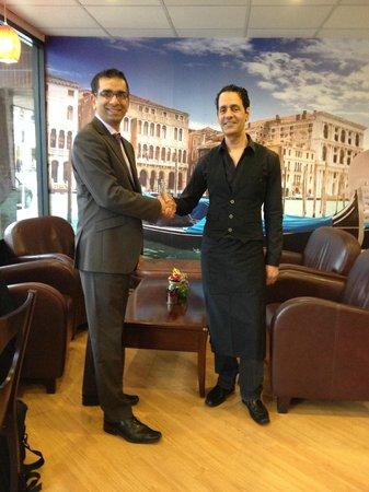 Caffe Venecia Ltd: Councillor Khan gives Caffe Venecia his approval