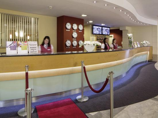 Austria Trend Hotel Ananas: reception